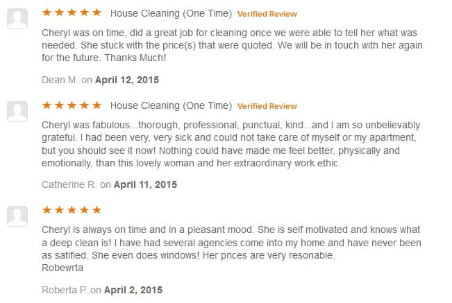 Reviews - CleanSpace Cleaning Services - Seattle Deep Cleaning